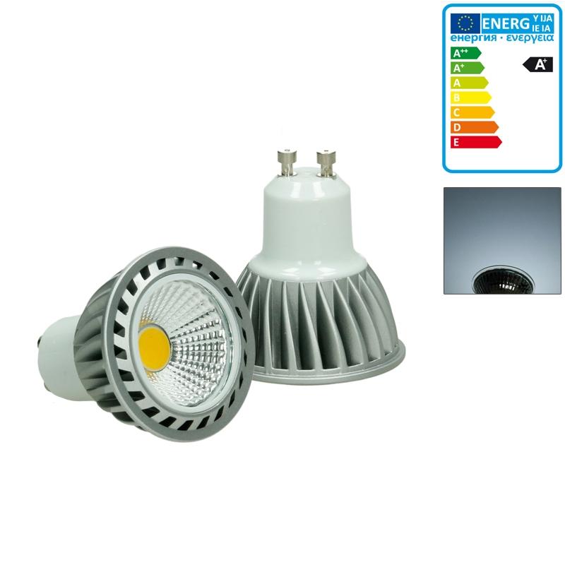 5 x 4w led cob gu10 spot lampe birne leuchte strahler licht ecd germany. Black Bedroom Furniture Sets. Home Design Ideas