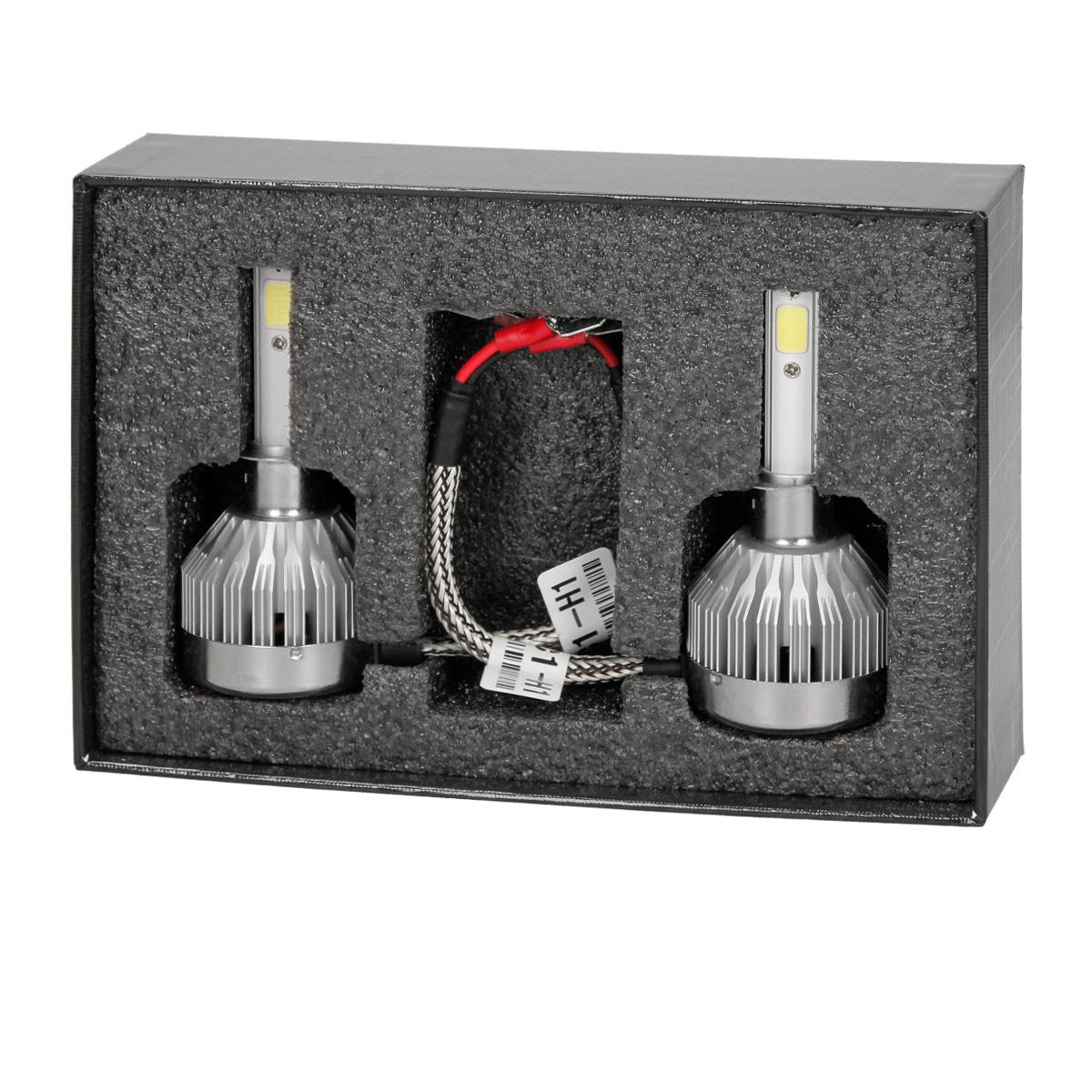 2 x h1 h3 h4 h7 30w led birne auto scheinwerfer lichter leuchtmittel cob 6000k ebay. Black Bedroom Furniture Sets. Home Design Ideas