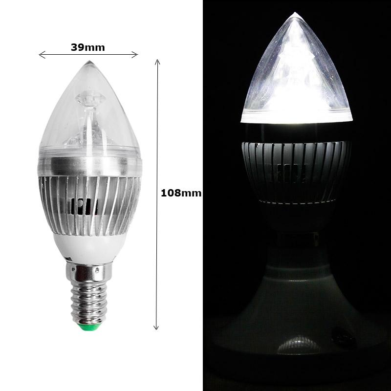 e14 3w led smd kerzenlampe candle lampe birne leuchtmittel kerzen licht ebay. Black Bedroom Furniture Sets. Home Design Ideas