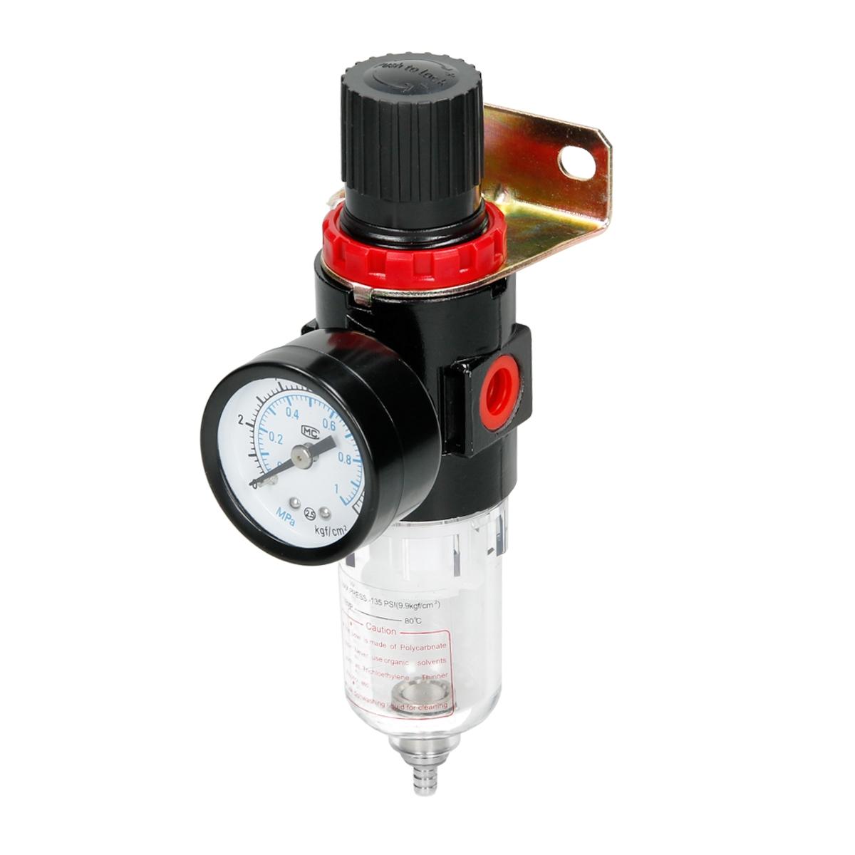 filtre air compresseur s parateur d eau avec manom tre 1 4 255 cc 15 cc 85 mpa ebay. Black Bedroom Furniture Sets. Home Design Ideas