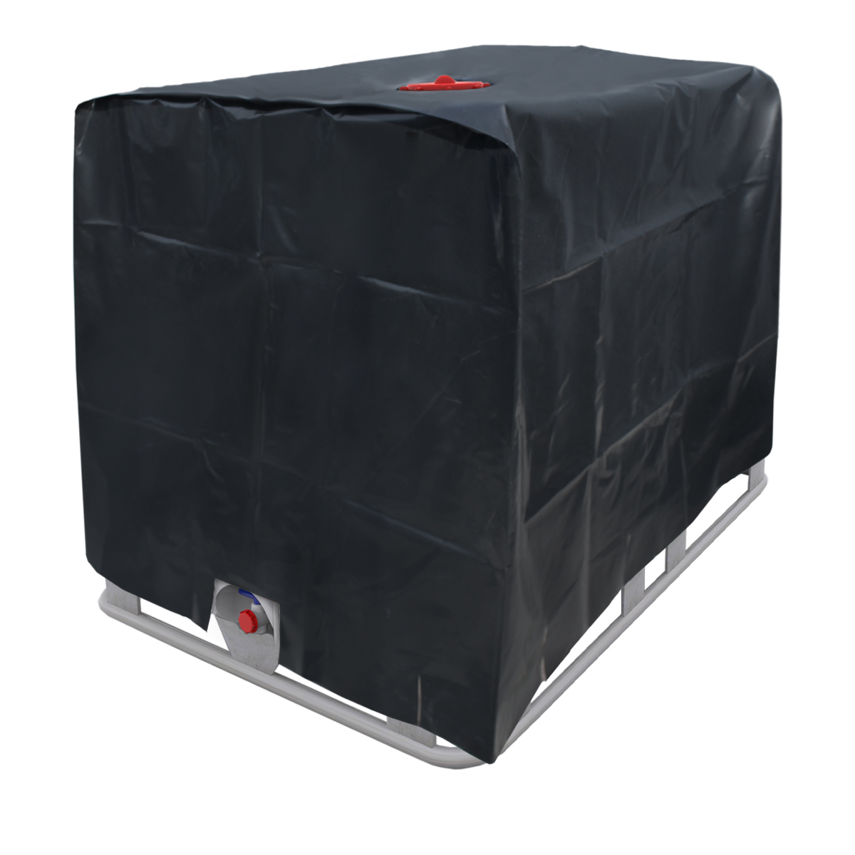 cover cases protection for ibc tank water tank 1000l container insulating foil. Black Bedroom Furniture Sets. Home Design Ideas