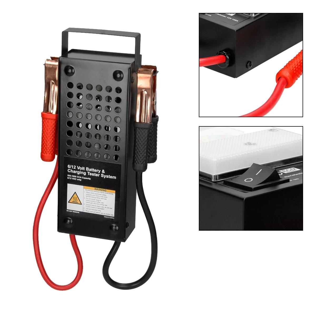 Battery Checker Tester : Battery tester batteries checker test v load drop