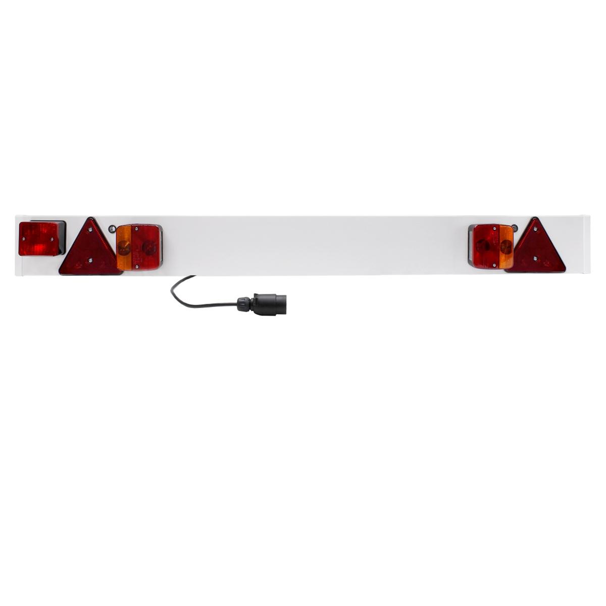 Anhängerbeleuchtung Beleuchtungsbalken Anhänger Leuchte 6m Lichtbrücke Trailer