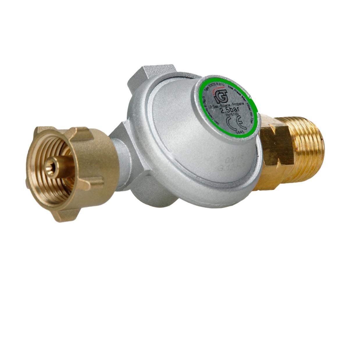Regulador-presion-gas-2-5-bar-4-bar-con-soplete-quemador-gas-antorcha-tirador