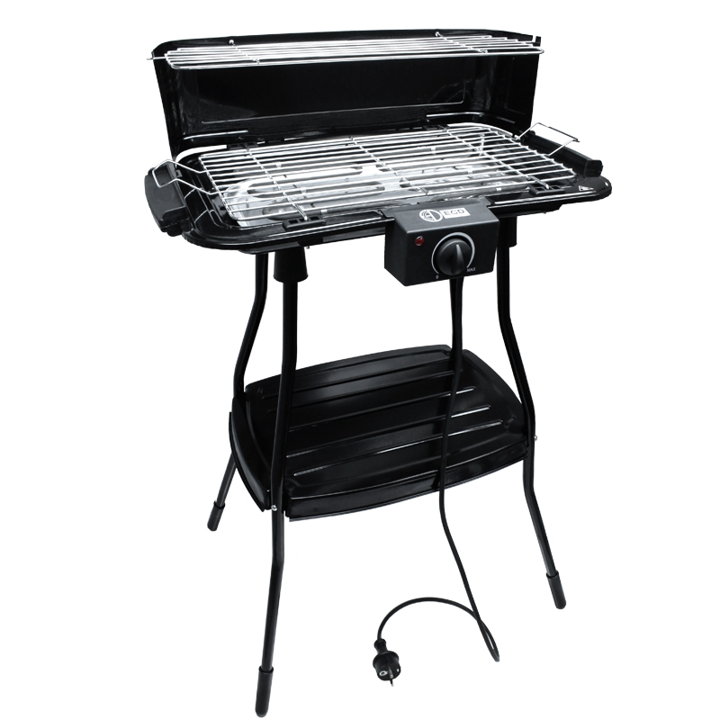 elektrogrill tischgrill standgrill bbq elektro tisch stand grill elektrisch ecd ebay. Black Bedroom Furniture Sets. Home Design Ideas
