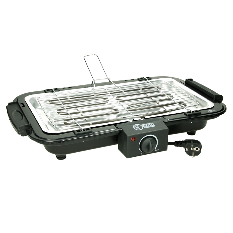 barbecue electrique grill portable plateau de table sur pieds thermostat 2200w ebay. Black Bedroom Furniture Sets. Home Design Ideas
