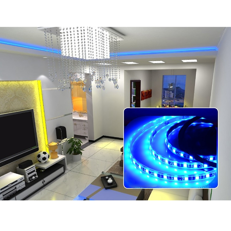 5m rgb led strip band leiste streifen lichtkette lichter. Black Bedroom Furniture Sets. Home Design Ideas