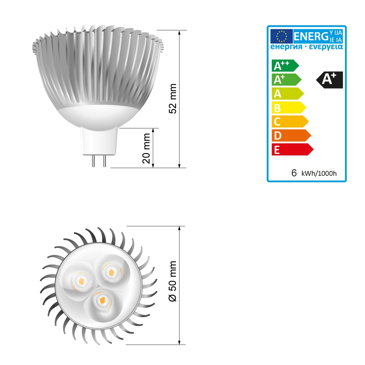 10x led gu10 mr16 smd recessed ceiling spotlights downlights bulbs spot lights ebay. Black Bedroom Furniture Sets. Home Design Ideas