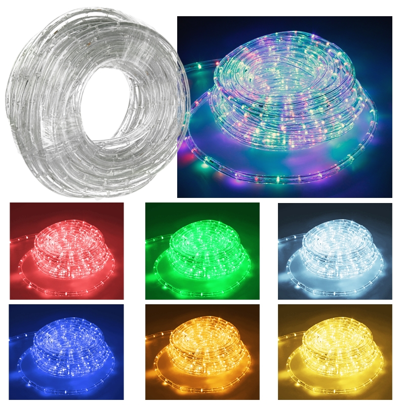 10 50m led bande couleur flexible strip decoration interieur exterieur f te no l ebay. Black Bedroom Furniture Sets. Home Design Ideas