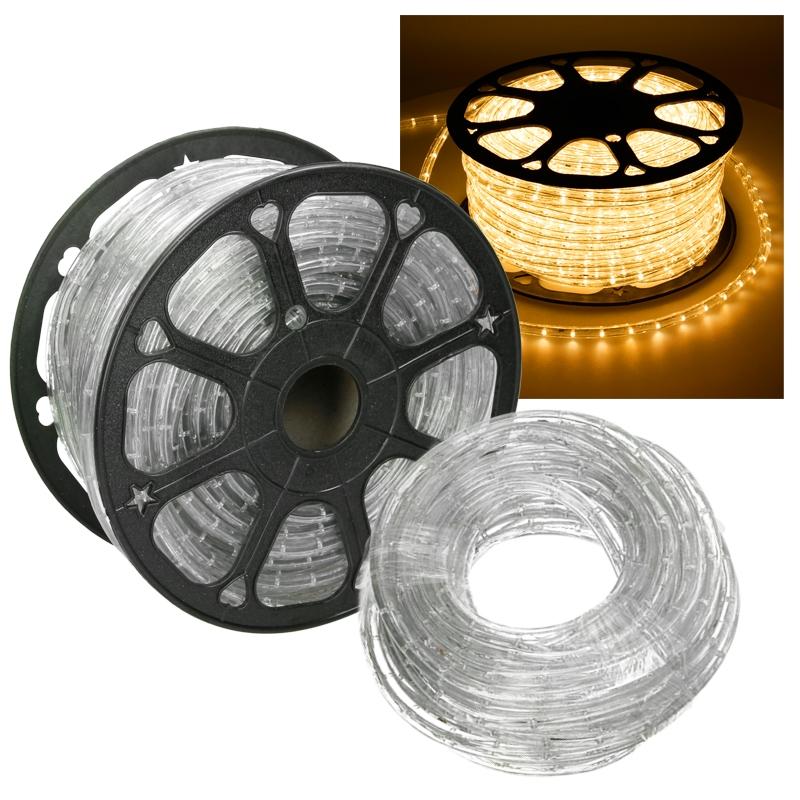 led lichtschlauch lichterschlauch lichterkette au en innen licht schlauch ip44 ebay. Black Bedroom Furniture Sets. Home Design Ideas