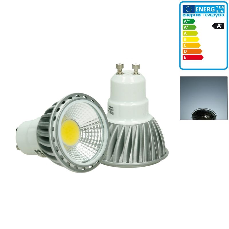 10 x 6w led cob gu10 spot lampe birne leuchte strahler licht leuchtmittel ebay. Black Bedroom Furniture Sets. Home Design Ideas