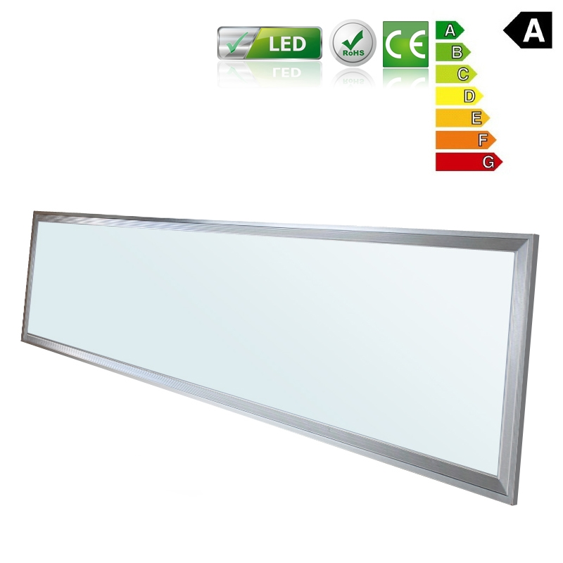 120x30cm led panel wandleuchte leuchte einbau decken lampe ultraslim 42 watt ebay. Black Bedroom Furniture Sets. Home Design Ideas