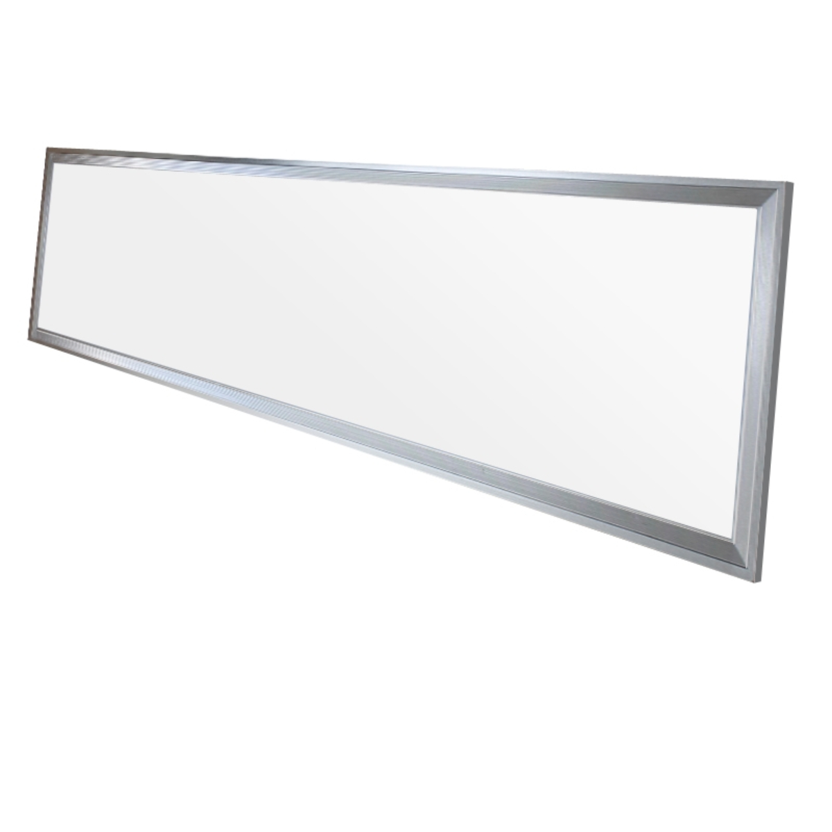 120x30cm led panel wandleuchte leuchte einbau decken lampe ultraslim 42 watt ebay. Black Bedroom Furniture Sets. Home Design Ideas