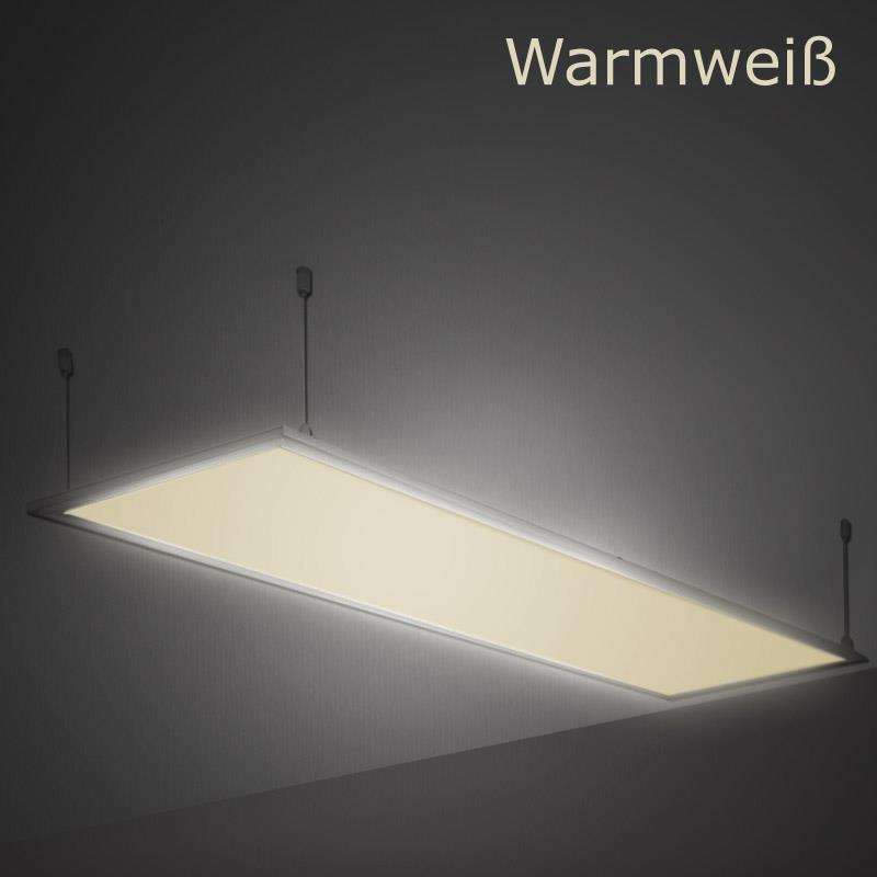 led panel 120x30cm 42w pendelleuchte lampe deckenleuchte einbaustrahler strahler ebay. Black Bedroom Furniture Sets. Home Design Ideas