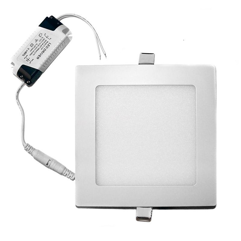 led panel deckenleuchte decken leuchte deckenlampe wandleuchte lampe ultraslim ebay. Black Bedroom Furniture Sets. Home Design Ideas