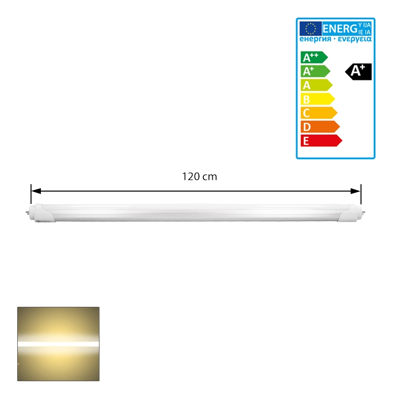 120cm led smd r hre tube t8 g13 20 watt leuchtstoffr hre lampe r hren ebay. Black Bedroom Furniture Sets. Home Design Ideas