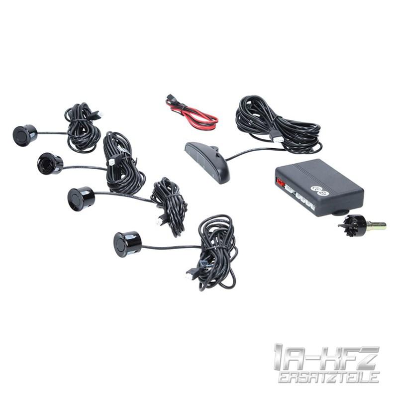 Einparkhilfe-Rueckfahrwarner-Parkhilfe-4-Sensoren-Display-Werkstattqualitaet