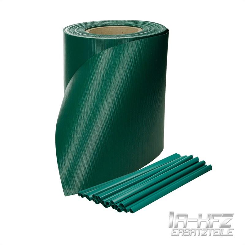 sichtschutz rolle blickdicht zaunfolie pvc windschutz zaun f r doppelstabmatten ebay. Black Bedroom Furniture Sets. Home Design Ideas