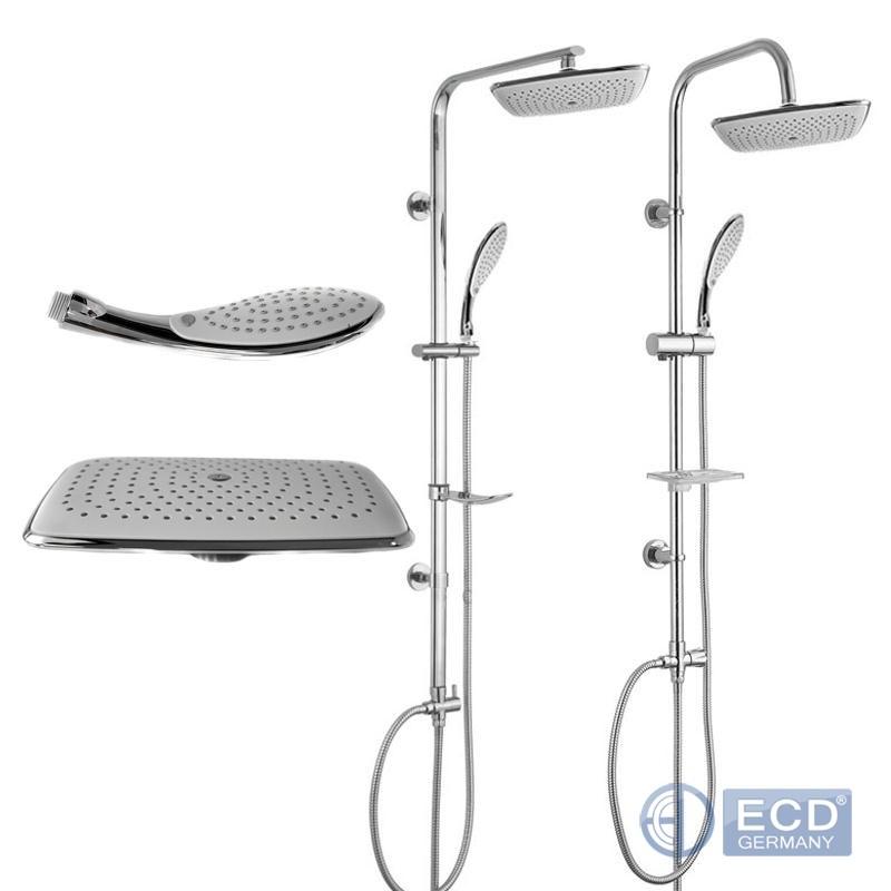 duscharmatur duschset dusche dusch set handbrause kopfbrause regendusche ebay. Black Bedroom Furniture Sets. Home Design Ideas