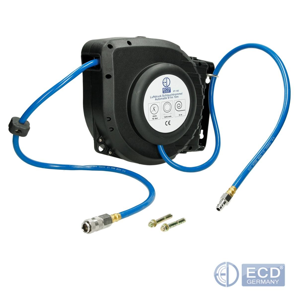 Kompressorzubehoer-Ausblaspistole-Druckluftschlauch-Reifenfueller-Schlagschrauber