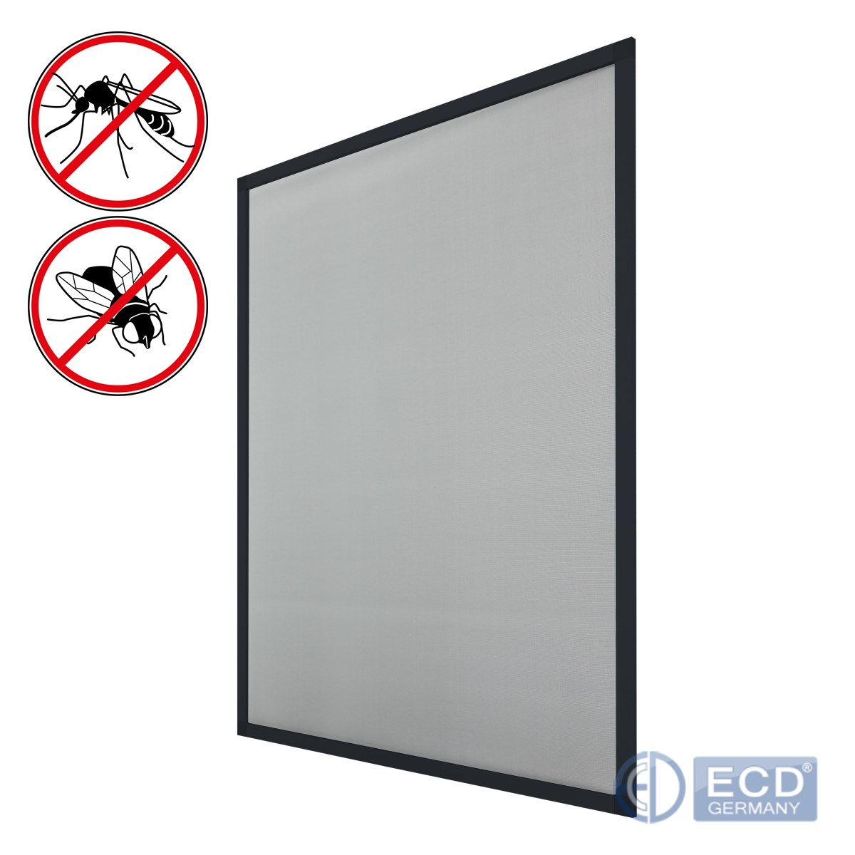 Mosquito net fly screen insect mesh aluminum frame brown white gray ...
