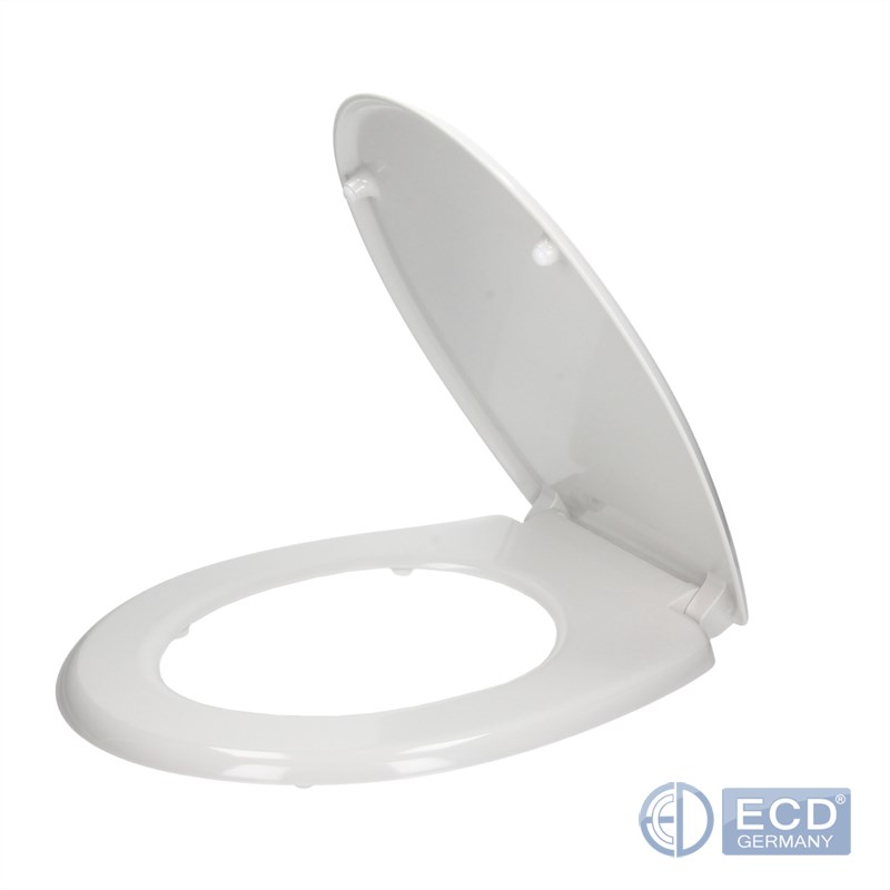 Toilet Seat Select Design Duroplast Soft Normal Close
