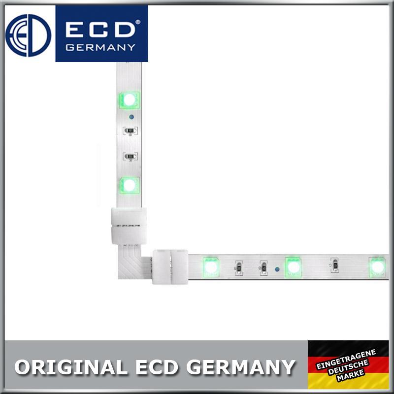 rgb led strip leiste verbinder adapter stecker 4 pin 5050 f r lichterkette. Black Bedroom Furniture Sets. Home Design Ideas