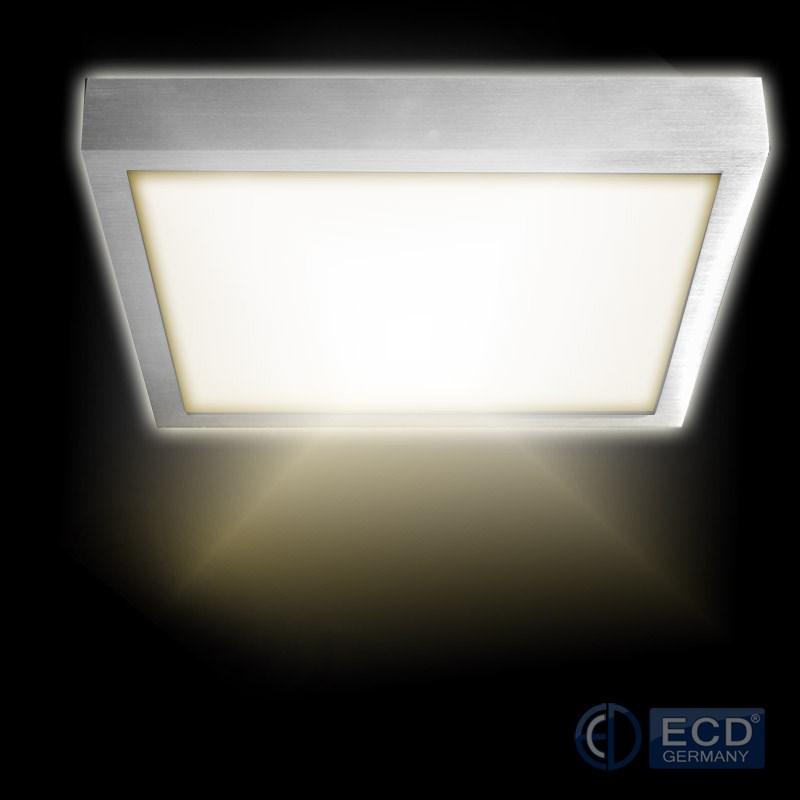 ceiling lamp work light led panel 120x30 60x60 60x30 30x30 cm 2700k 6000k ebay. Black Bedroom Furniture Sets. Home Design Ideas