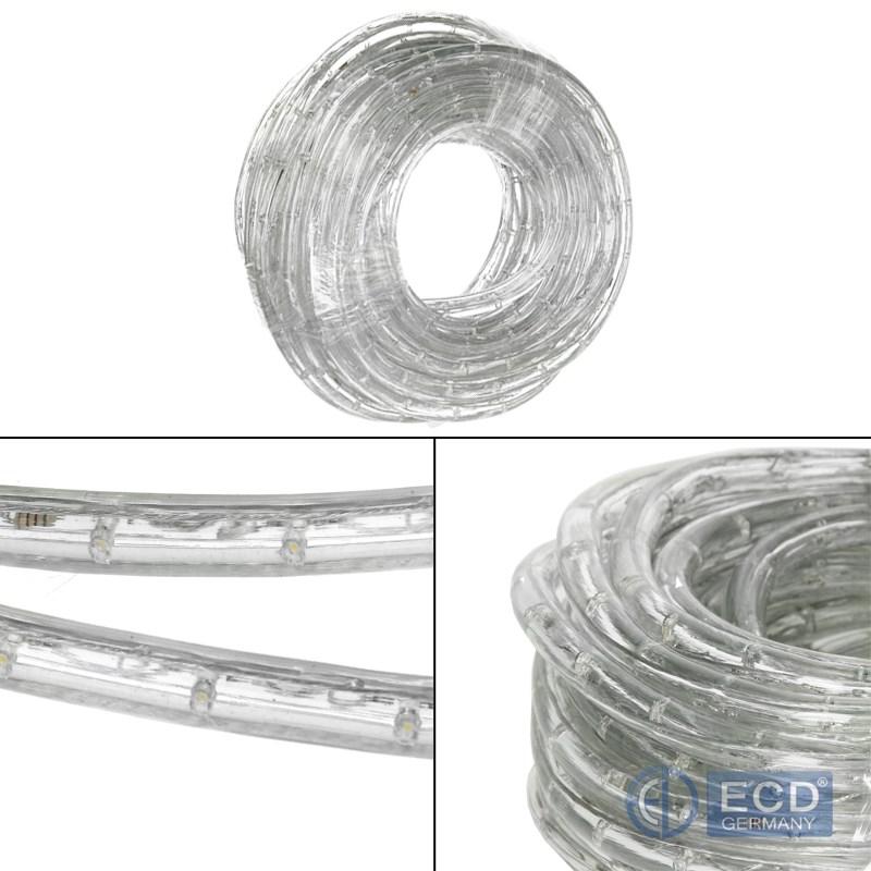 led lichtschlauch lichterschlauch lichterkette au en innen schlauch leiste ip44. Black Bedroom Furniture Sets. Home Design Ideas