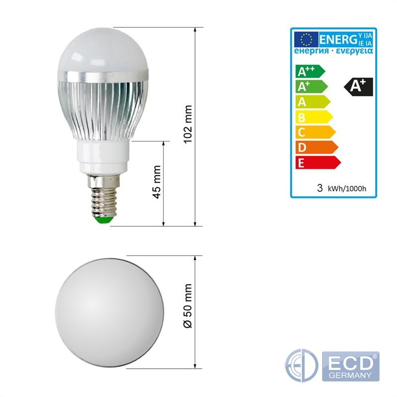 E14 E27 3W 5W 9W RGB LED BIRNE