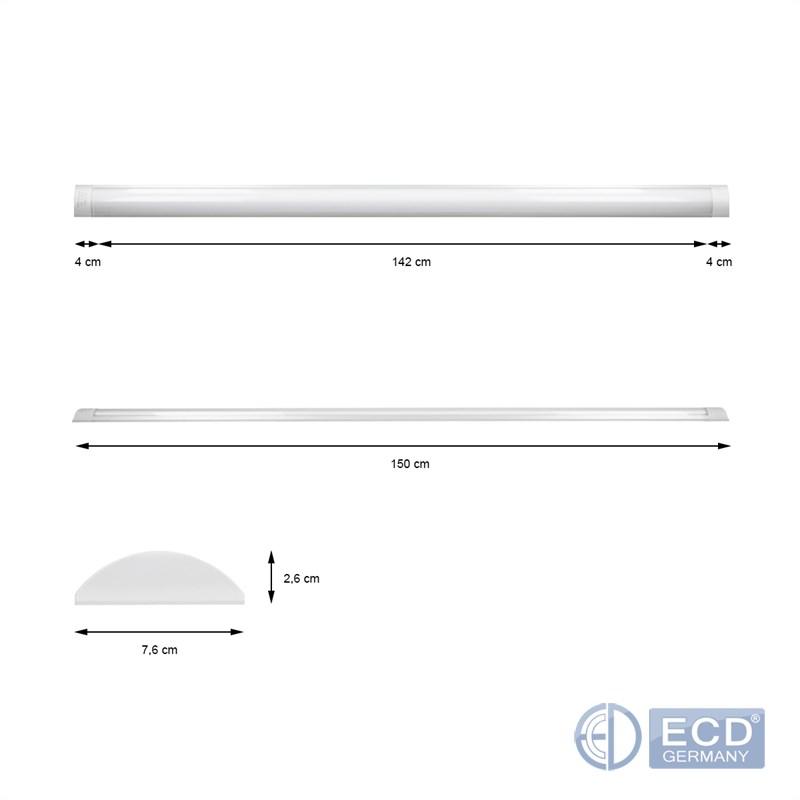LED DECKENLEUCHTE PANEL LAMPE LICHT BÜROLAMPE BÜRO  # Led Deckenleuchte Büro
