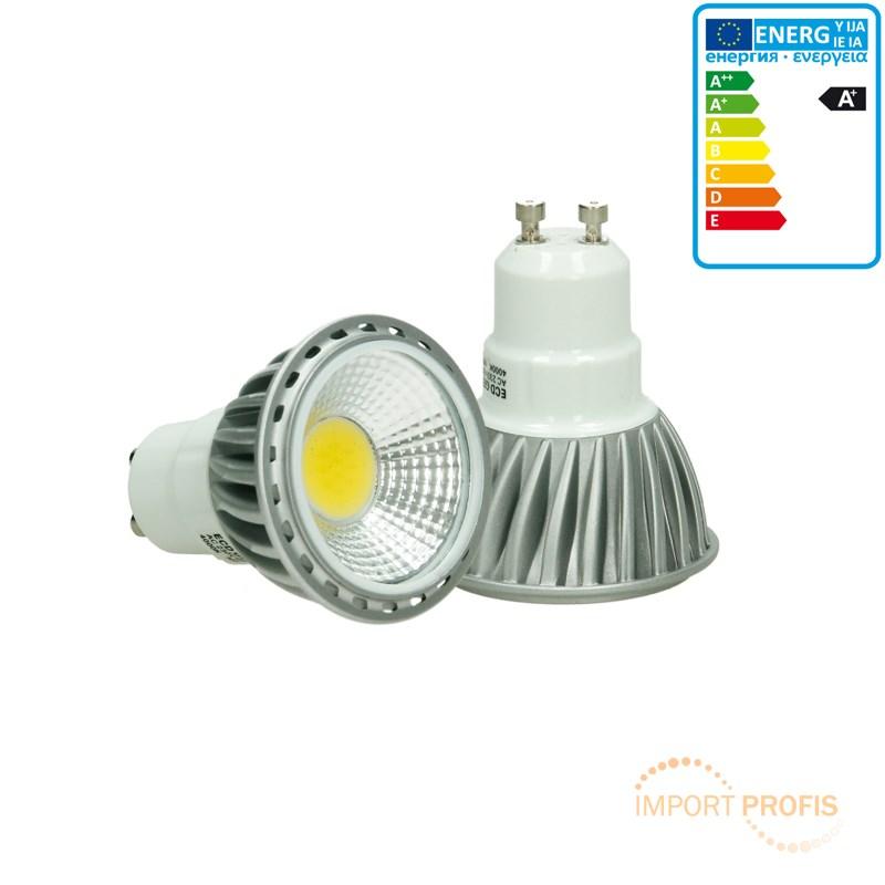 6w led cob gu10 spot lampe birne leuchte strahler licht warmwei einbaustrahler ebay. Black Bedroom Furniture Sets. Home Design Ideas