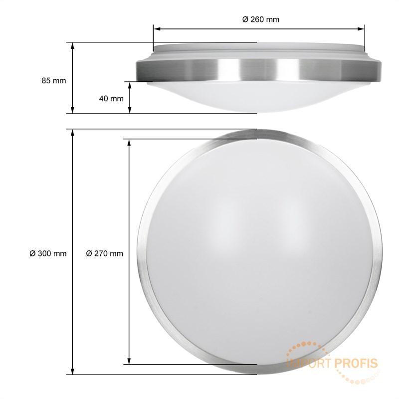 led deckenlampe deckenleuchte leuchte energiespar lampe aufbau lampe 12w decke ebay. Black Bedroom Furniture Sets. Home Design Ideas