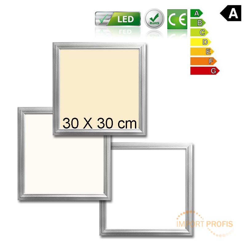 led panel lampe deckenleuchte pendelleuchte deckenlampe ultraslim einbau leuchte ebay. Black Bedroom Furniture Sets. Home Design Ideas