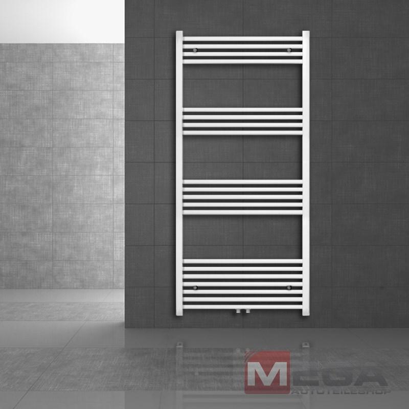 450 x 900 mm Sahara Badheizkörper Heizkörper Radiator Mittelanschluss Weiß