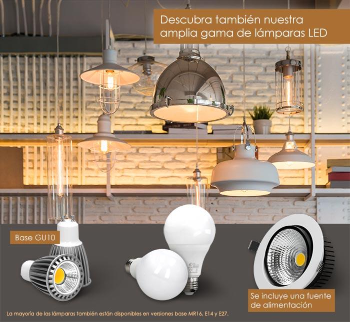Iluminación Lámpara LED Bombilla Spot Iluminadora LED_Bombilla Spot LED Lámpara de Ahorro de Energía Lámpara de Ahorro de Energía Incorporada Panel Fluorescente Tubo Fluorescente de Techo Montado en Superficie