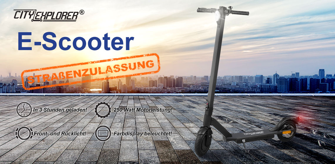 E-Scooter - Elektroscooter