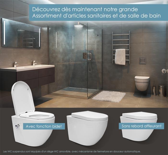 Douche - Bain - WC