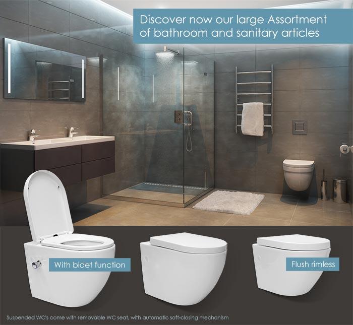 Shower - Bath - WC