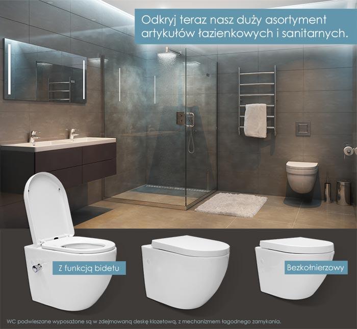 Prysznic - Wanna - WC