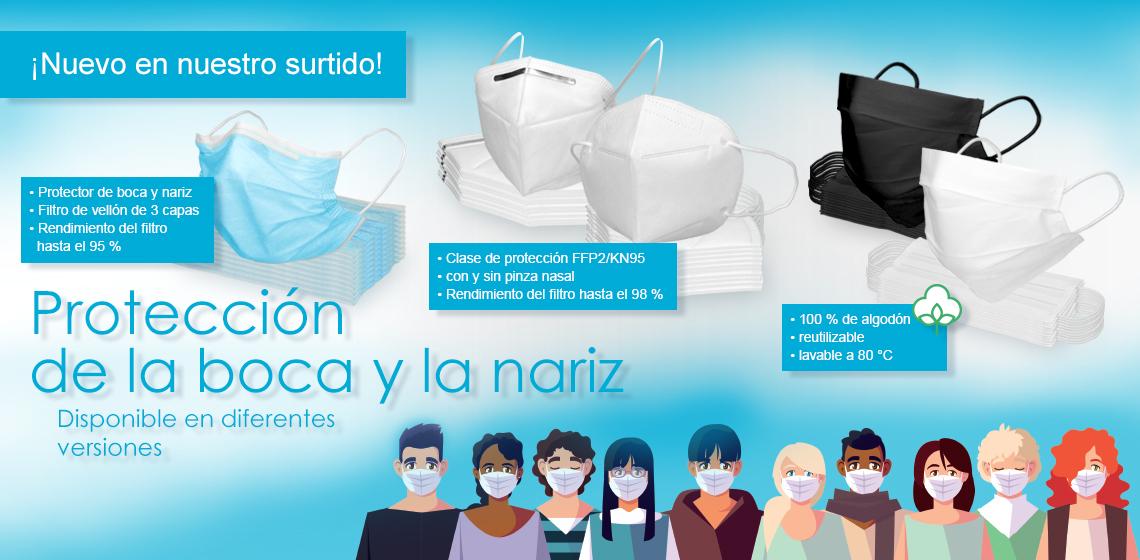 Máscara de protección respiratoria - Máscara facial