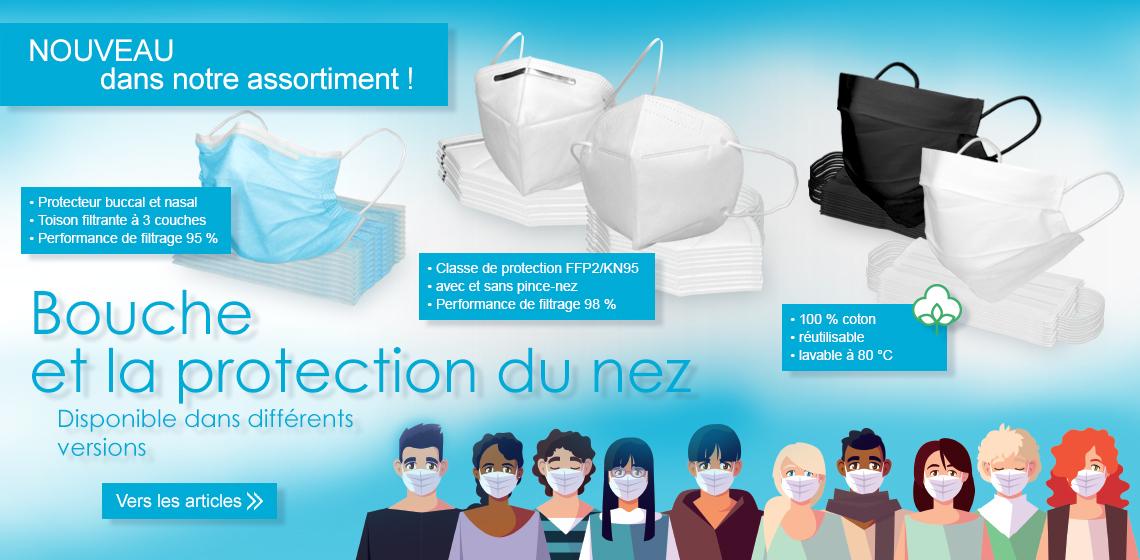 Masque de protection respiratoire - Masque facial