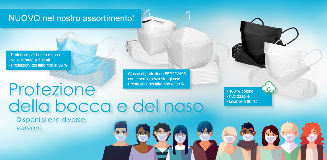 Maschera protettiva respiratoria - Maschera facciale