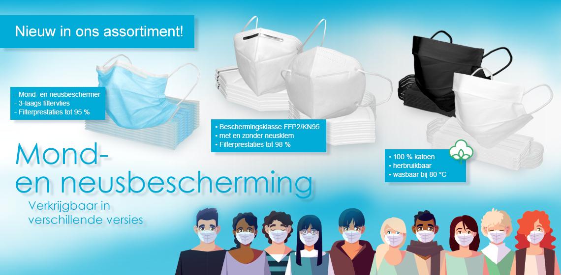 Ademhalingsbeschermingsmasker - Gelaatsmasker
