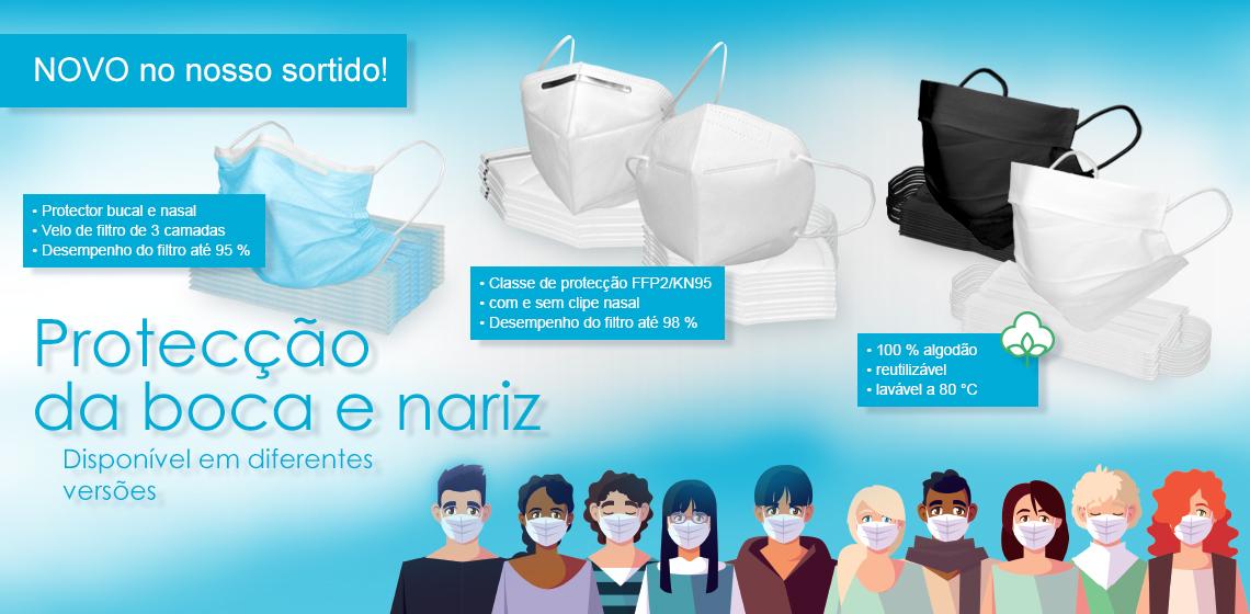 Máscara de protecção respiratória - Máscara facial