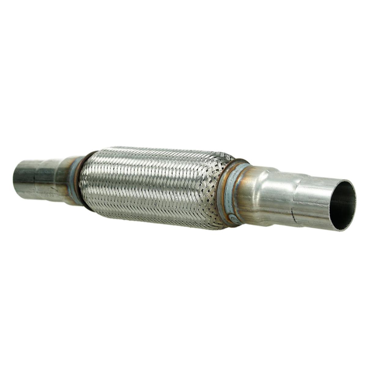 Für Suzuki Uni Flexrohr Flexstück Hosenrohr Rohr 45x100 210MM 2 Schellen