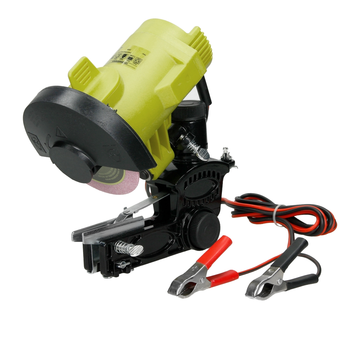 Mobile electric 12v 115 watt chainsaw sharpener blade saw - Affuteuse chaine tronconneuse professionnel ...