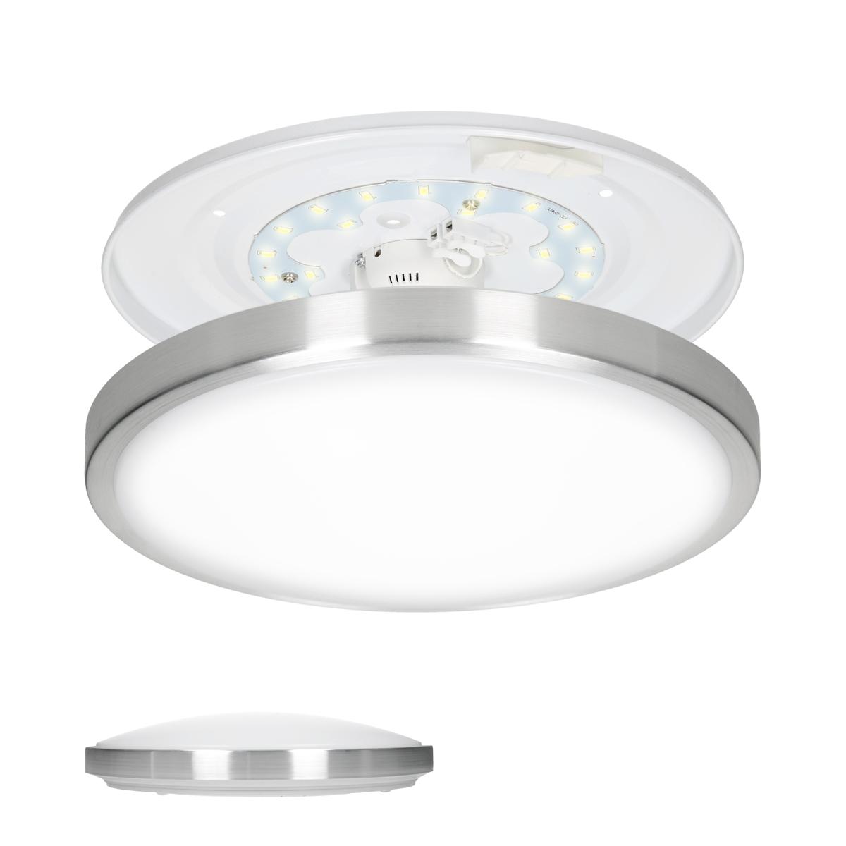 panneau led luminaire plafonnier applique lampe rond carr conomique clairage ebay. Black Bedroom Furniture Sets. Home Design Ideas