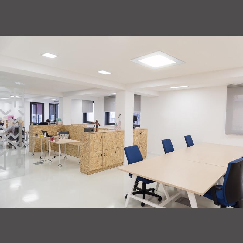 Details zu LED Panel Einbaustrahler Ultraslim Deckenleuchte Lampe LED COB  Spot mit Trafo