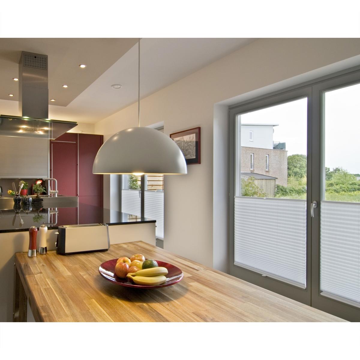 verdunkelungsrollo seitenzugrollo doppelrollo plissee klemmfix ohne bohren rollo ebay. Black Bedroom Furniture Sets. Home Design Ideas